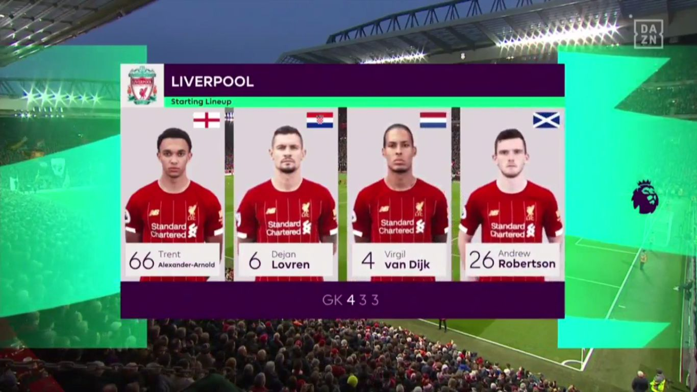 10-11-2019 - Liverpool 3-1 Manchester City