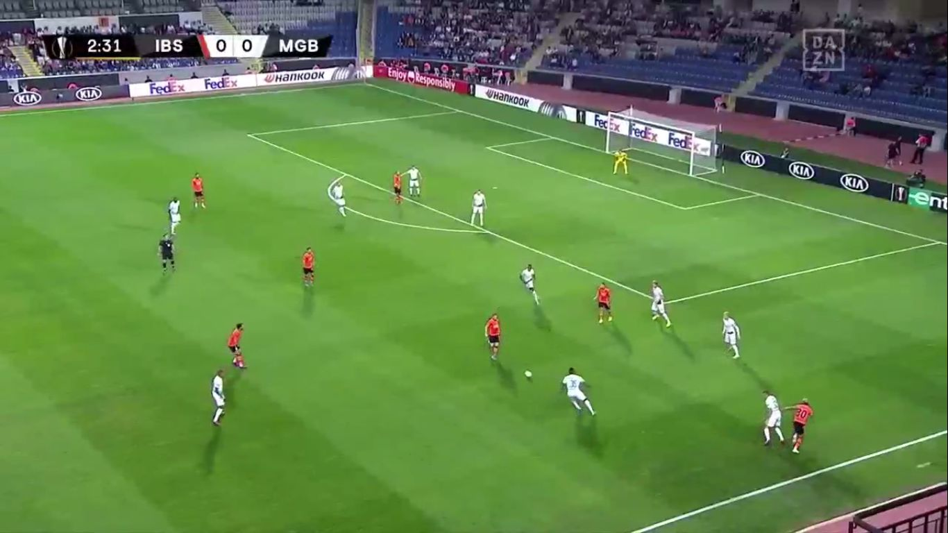 03-10-2019 - Istanbul Basaksehir 1-1 Borussia Monchengladbach (EUROPA LEAGUE)