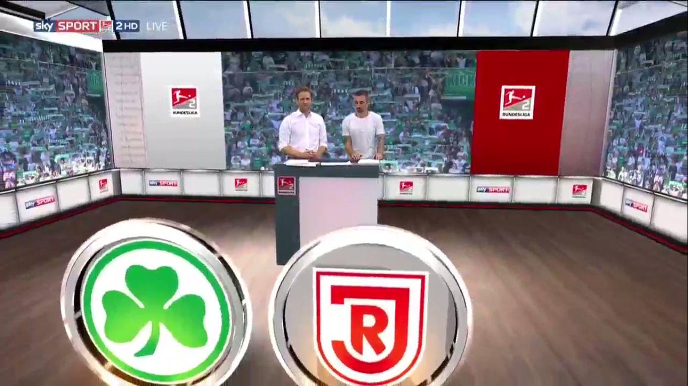 18-08-2019 - SpVgg Greuther Furth 1-0 SSV Jahn Regensburg (2. BUNDESLIGA)