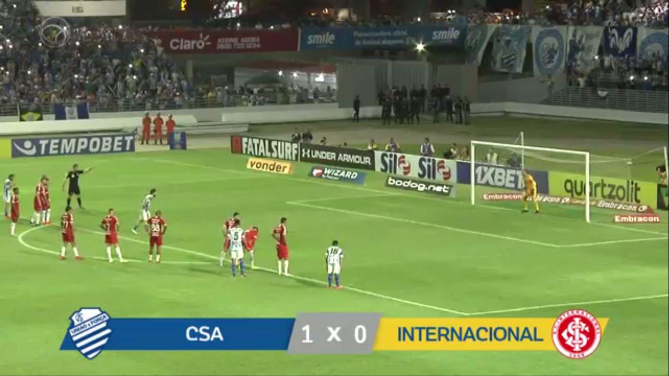 11-10-2019 - CSA AL 1-0 Internacional