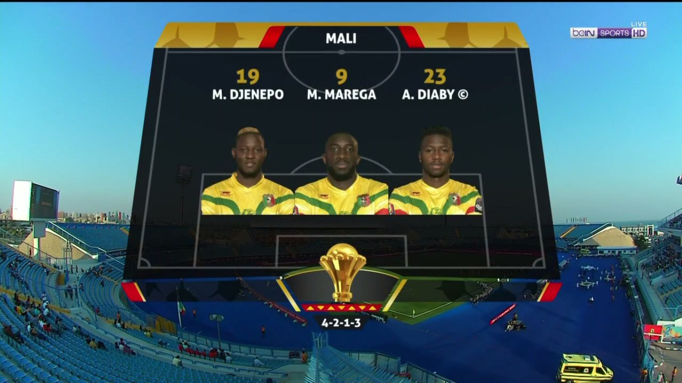08-07-2019 - Mali 0-1 Ivory Coast (AFRICA CUP OF NATIONS)