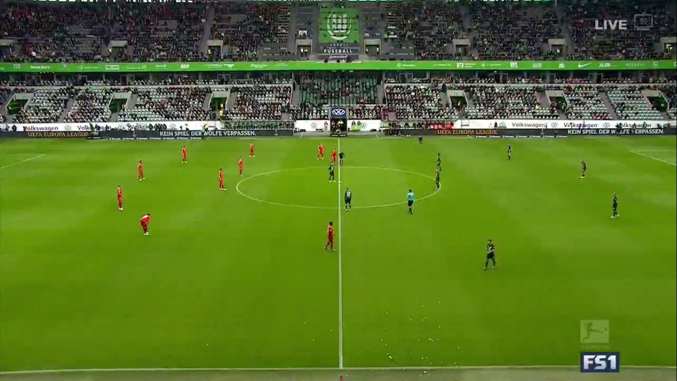 06-10-2019 - Wolfsburg 1-0 1. FC Union Berlin