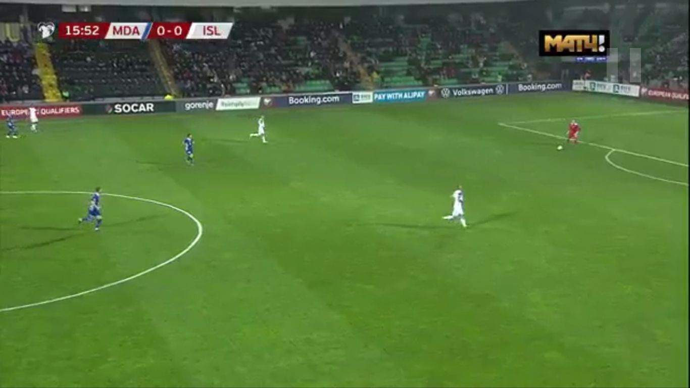 17-11-2019 - Moldova 1-2 Iceland (EURO QUALIF.)