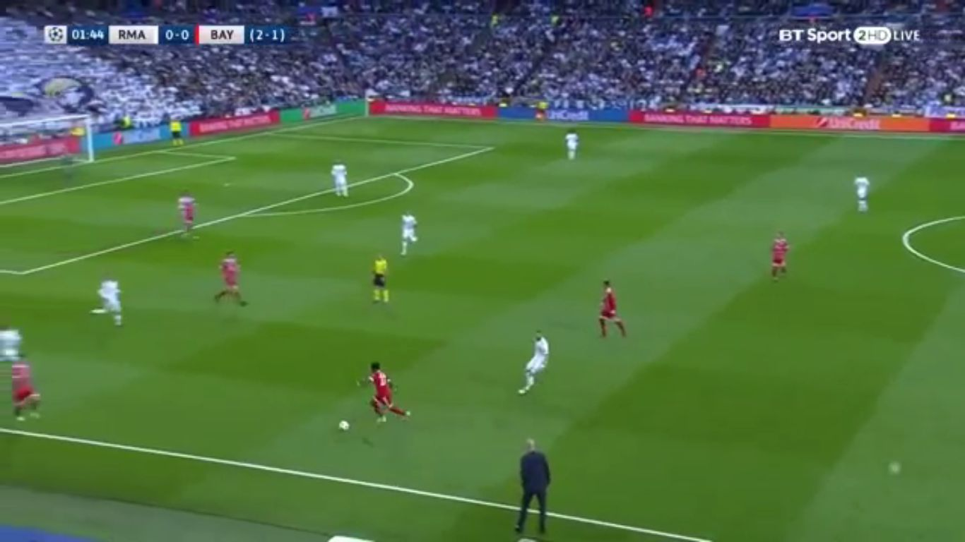 01-05-2018 - Real Madrid 2-2 Bayern Munich (CHAMPIONS LEAGUE)