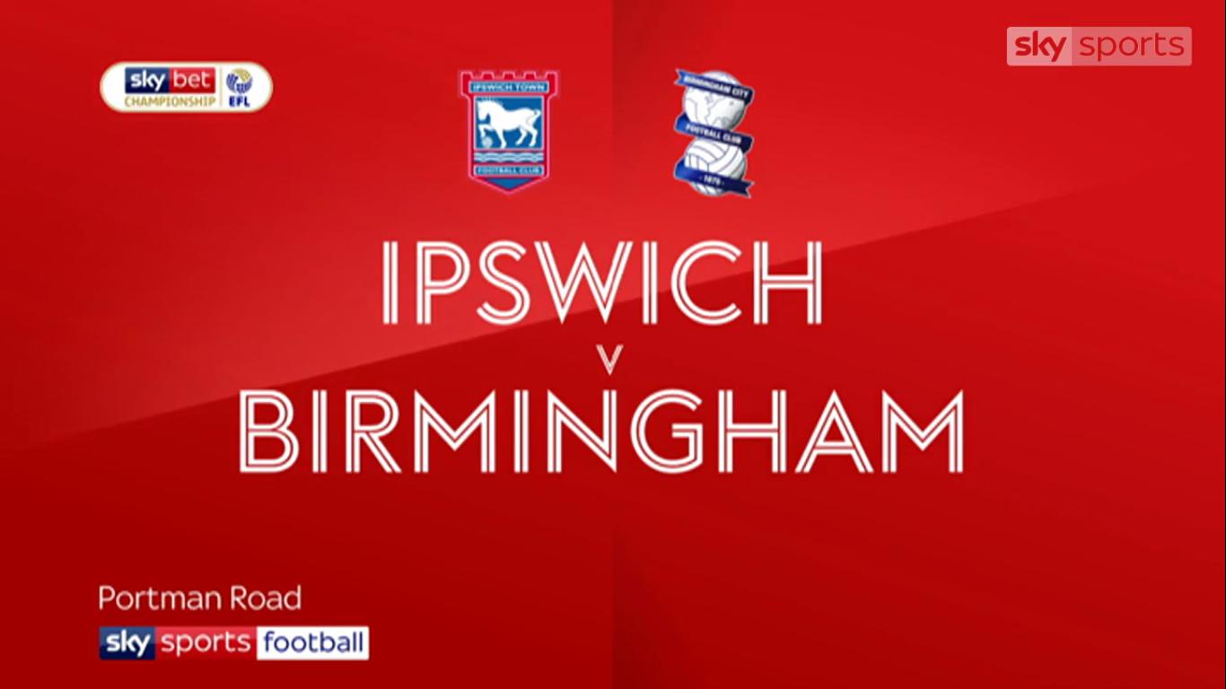13-04-2019 - Ipswich Town 1-1 Birmingham City (CHAMPIONSHIP)