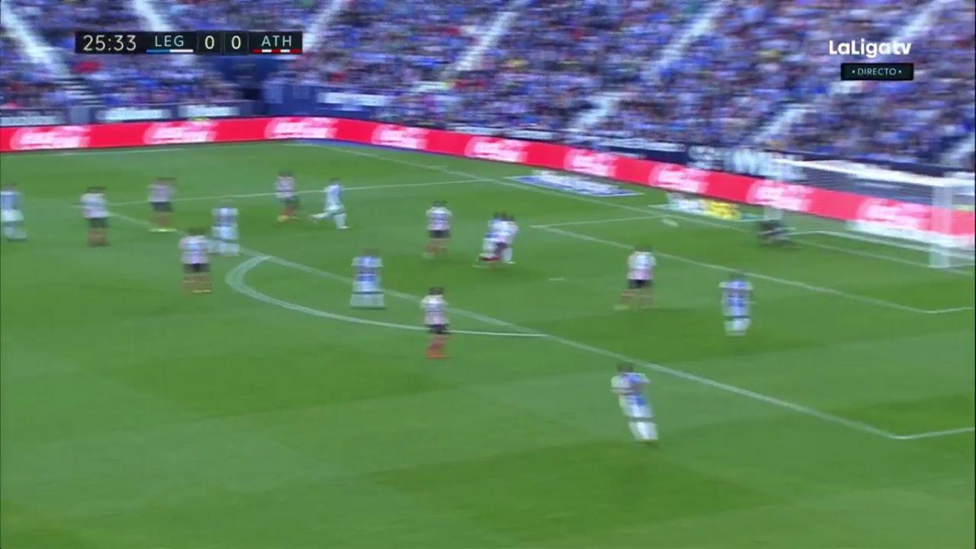 Leganes 1-0 Athletic Bilbao