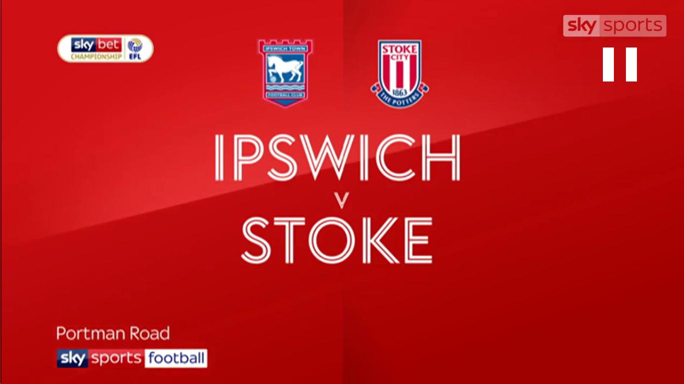 16-02-2019 - Ipswich Town 1-1 Stoke City (CHAMPIONSHIP)