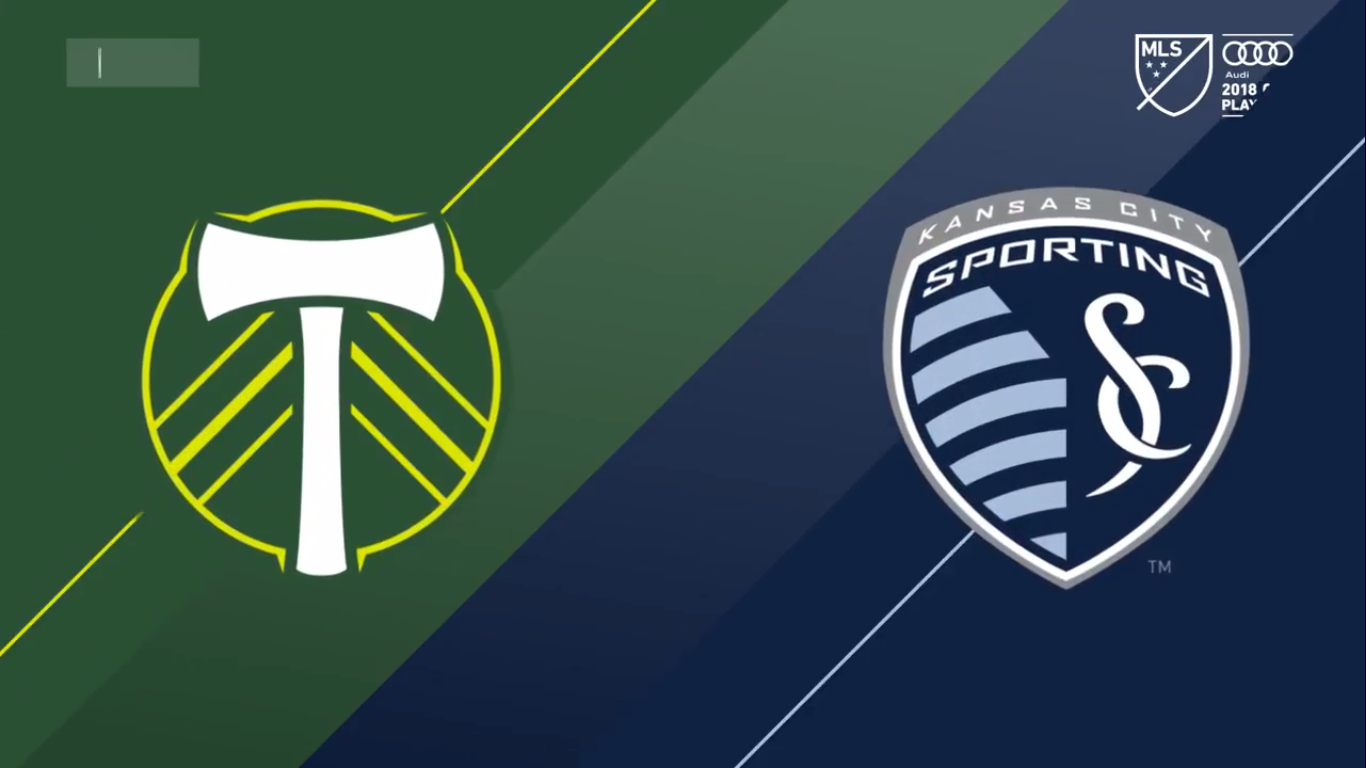 26-11-2018 - Portland Timbers 0-0 Sporting Kansas City