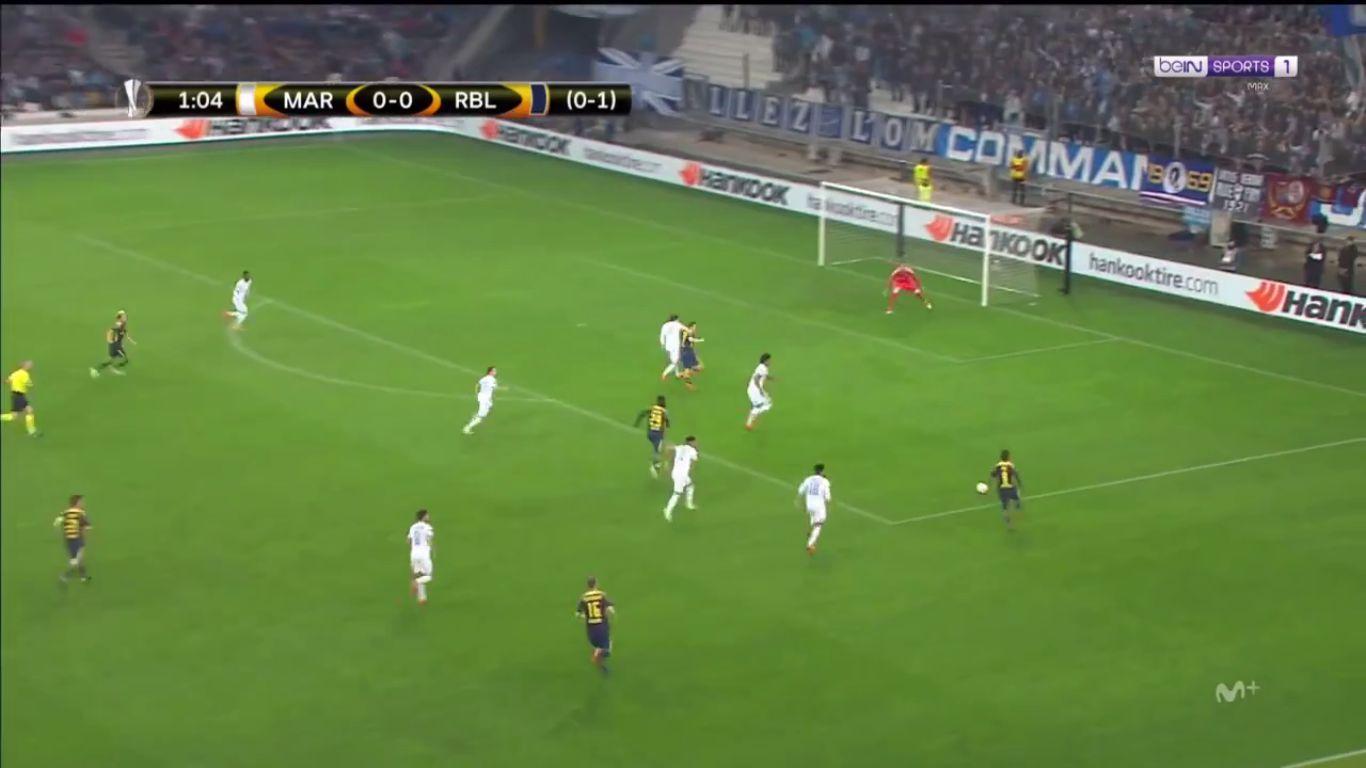 12-04-2018 - Marseille 5-2 RasenBallsport Leipzig (EUROPA LEAGUE)