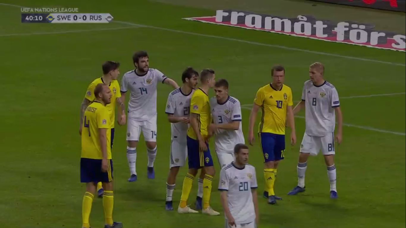 20-11-2018 - Sweden 2-0 Russia (UEFA NATIONS LEAGUE)