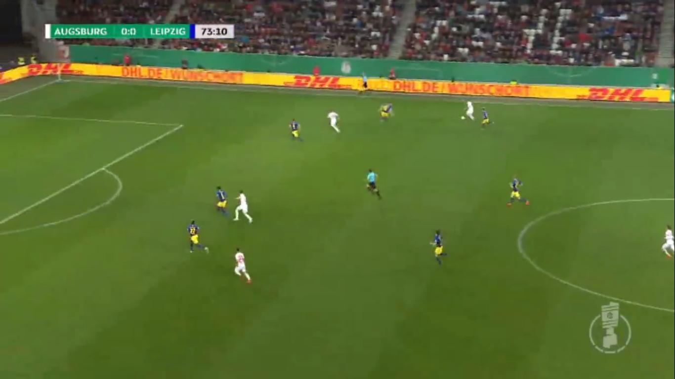 02-04-2019 - Augsburg 1-2 RasenBallsport Leipzig (DFB POKAL)