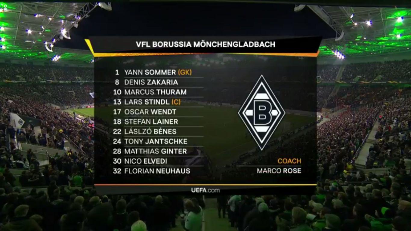07-11-2019 - Borussia Monchengladbach 2-1 Roma (EUROPA LEAGUE)