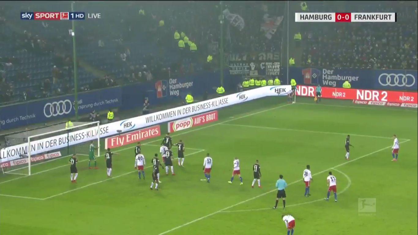Hamburger SV 1-2 Eintracht Frankfurt