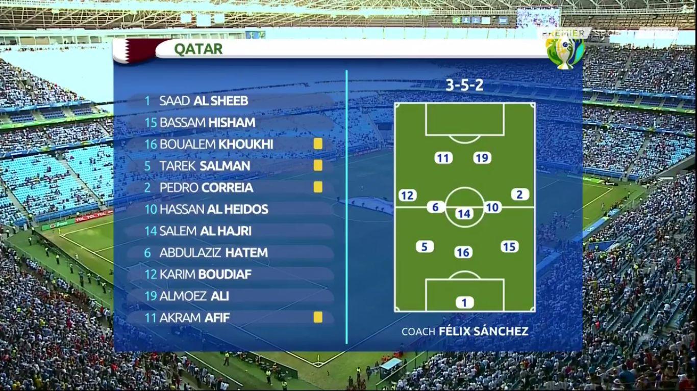 23-06-2019 - Qatar 0-2 Argentina (COPA AMERICA)