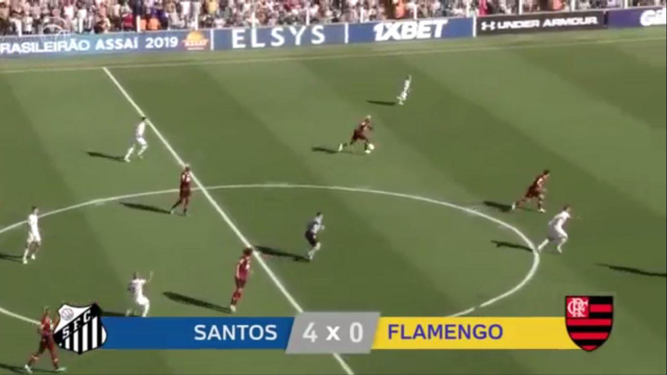 09-12-2019 - Santos FC SP 4-0 Flamengo
