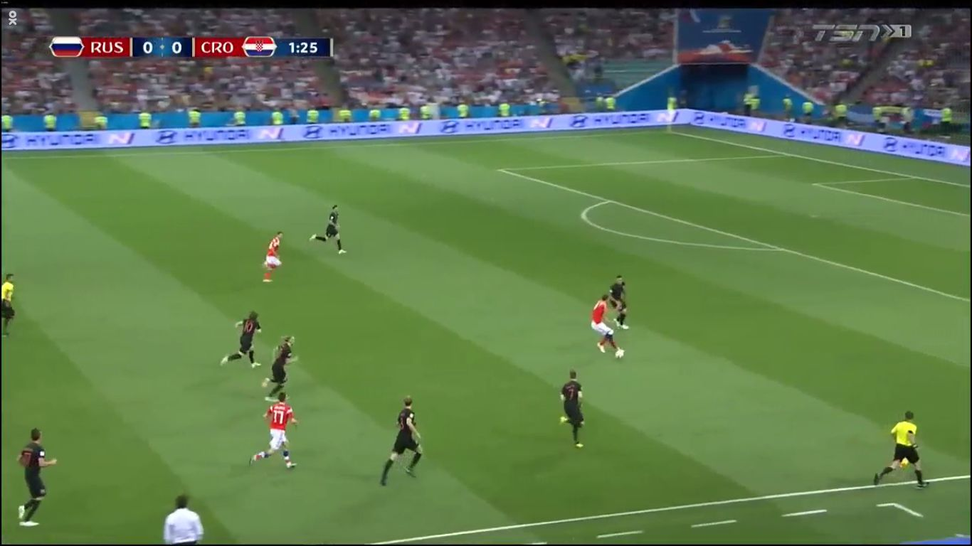 07-07-2018 - Russia 2-2 (3-4 PEN.) Croatia (WORLD CUP 2018)
