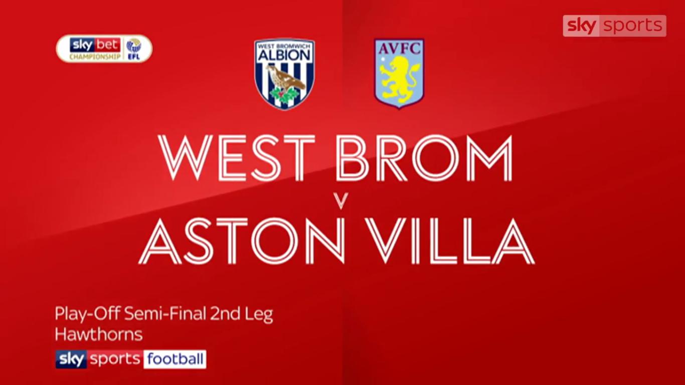 14-05-2019 - West Bromwich Albion 1-0 (3-4 PEN.) Aston Villa (CHAMPIONSHIP - PLA...
