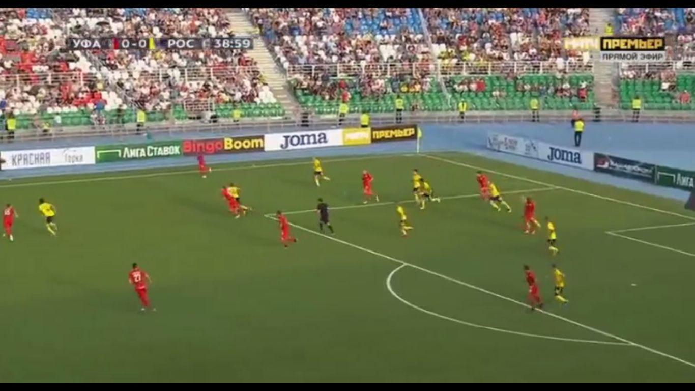 18-08-2019 - FC Ufa 2-0 FC Rostov