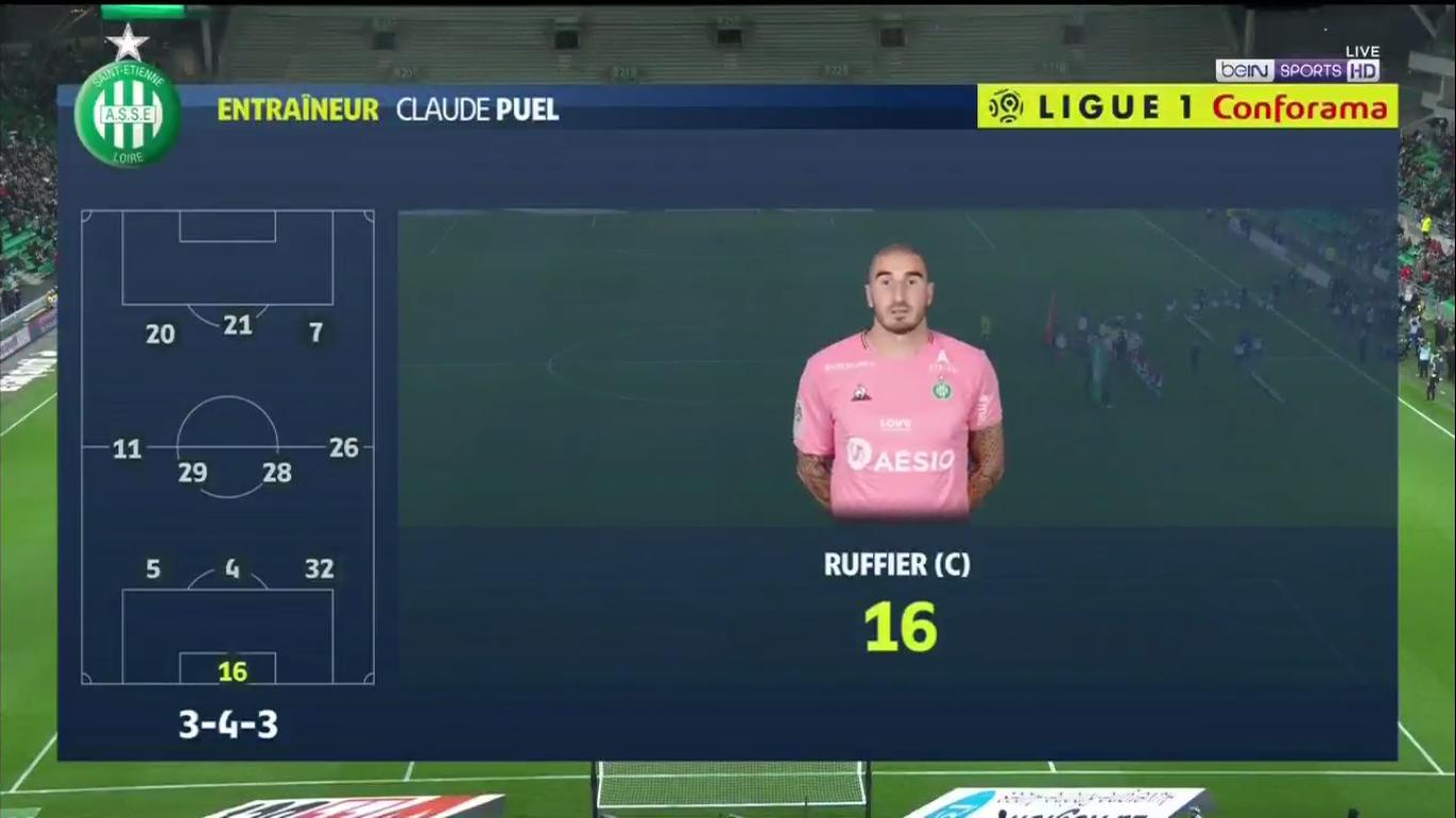 03-11-2019 - Saint-Etienne 1-0 Monaco