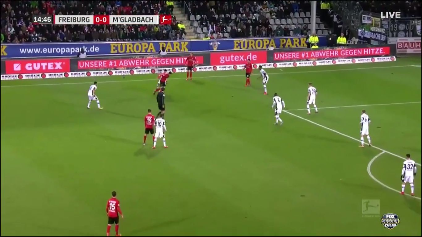 Freiburg 1-0 Borussia Moenchengladbach