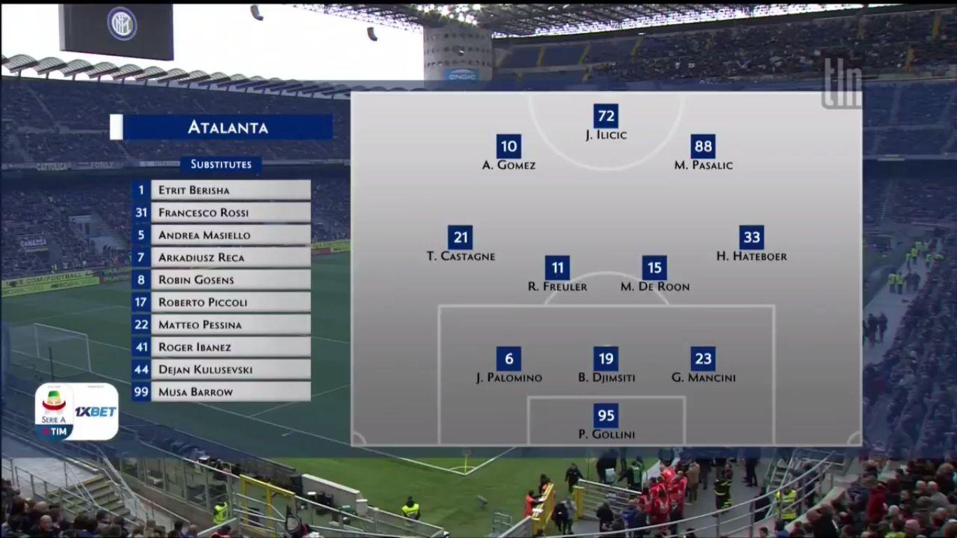 07-04-2019 - Inter 0-0 Atalanta