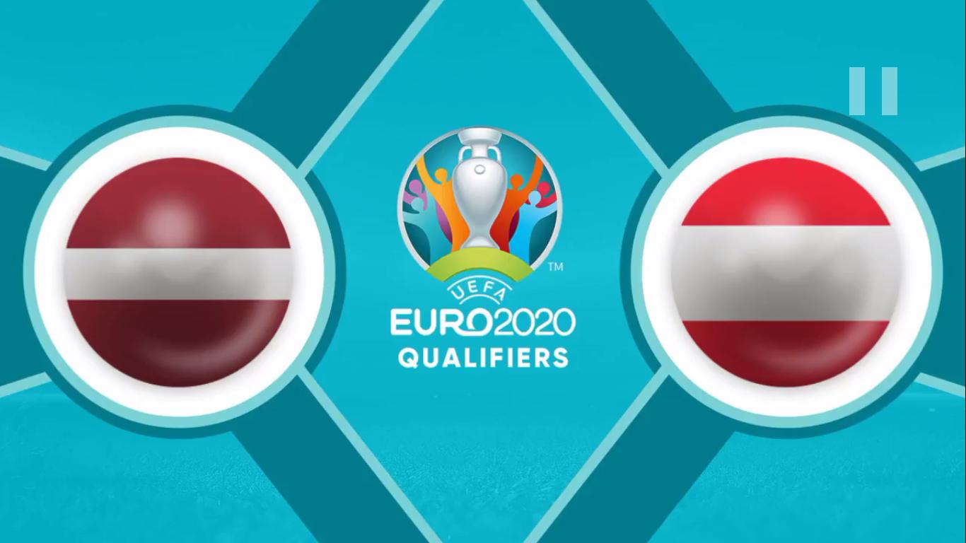 19-11-2019 - Latvia 1-0 Austria (EURO QUALIF.)