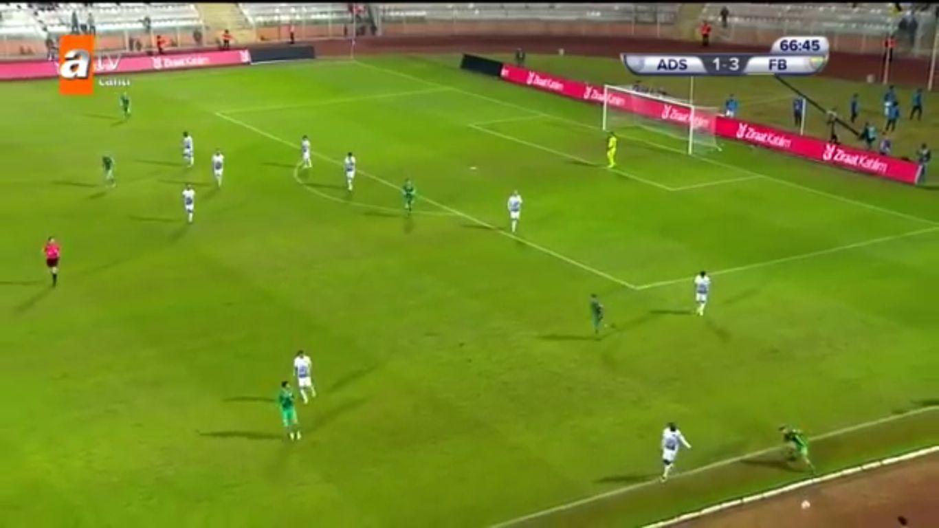 Adana Demirspor 1-4 Fenerbahce (ZIRAAT CUP)