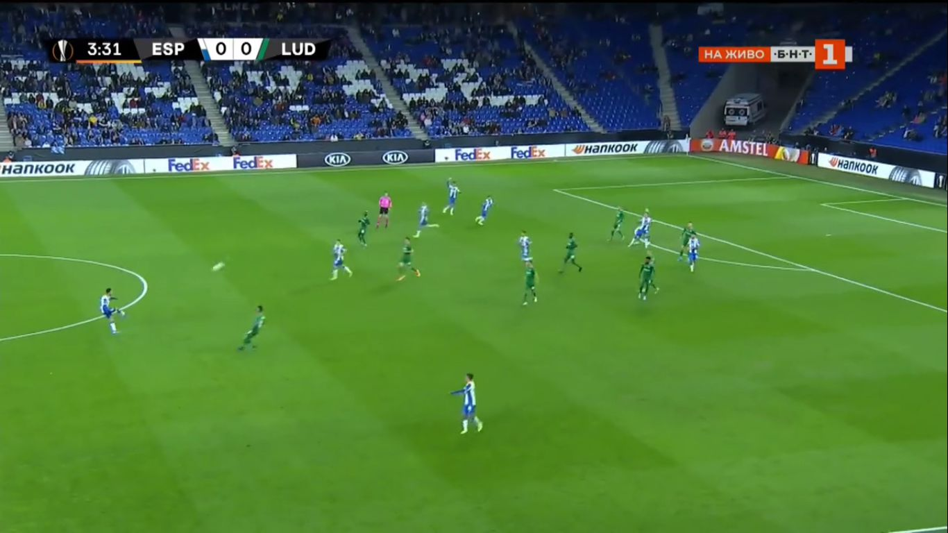 07-11-2019 - RCD Espanyol 6-0 Ludogorets Razgrad (EUROPA LEAGUE)
