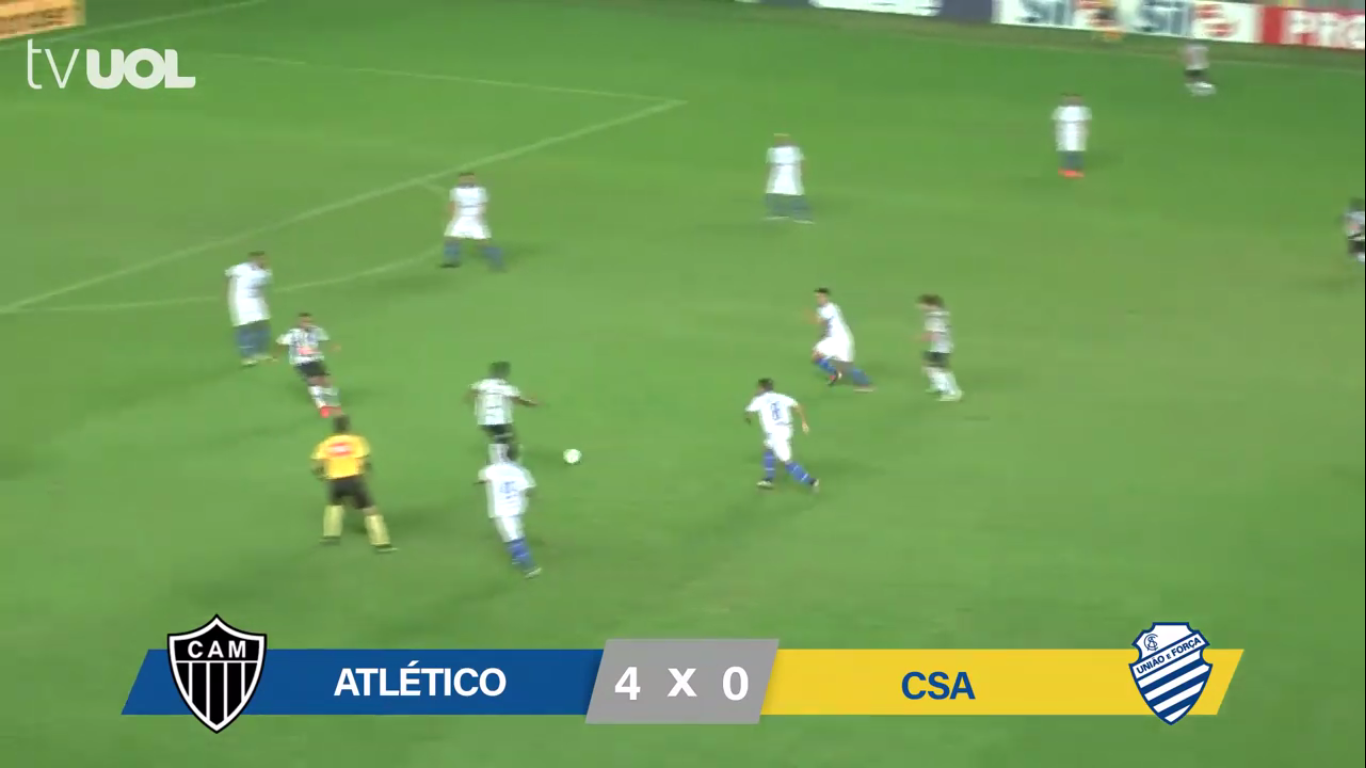 03-06-2019 - Atletico Mineiro MG 4-0 CSA AL