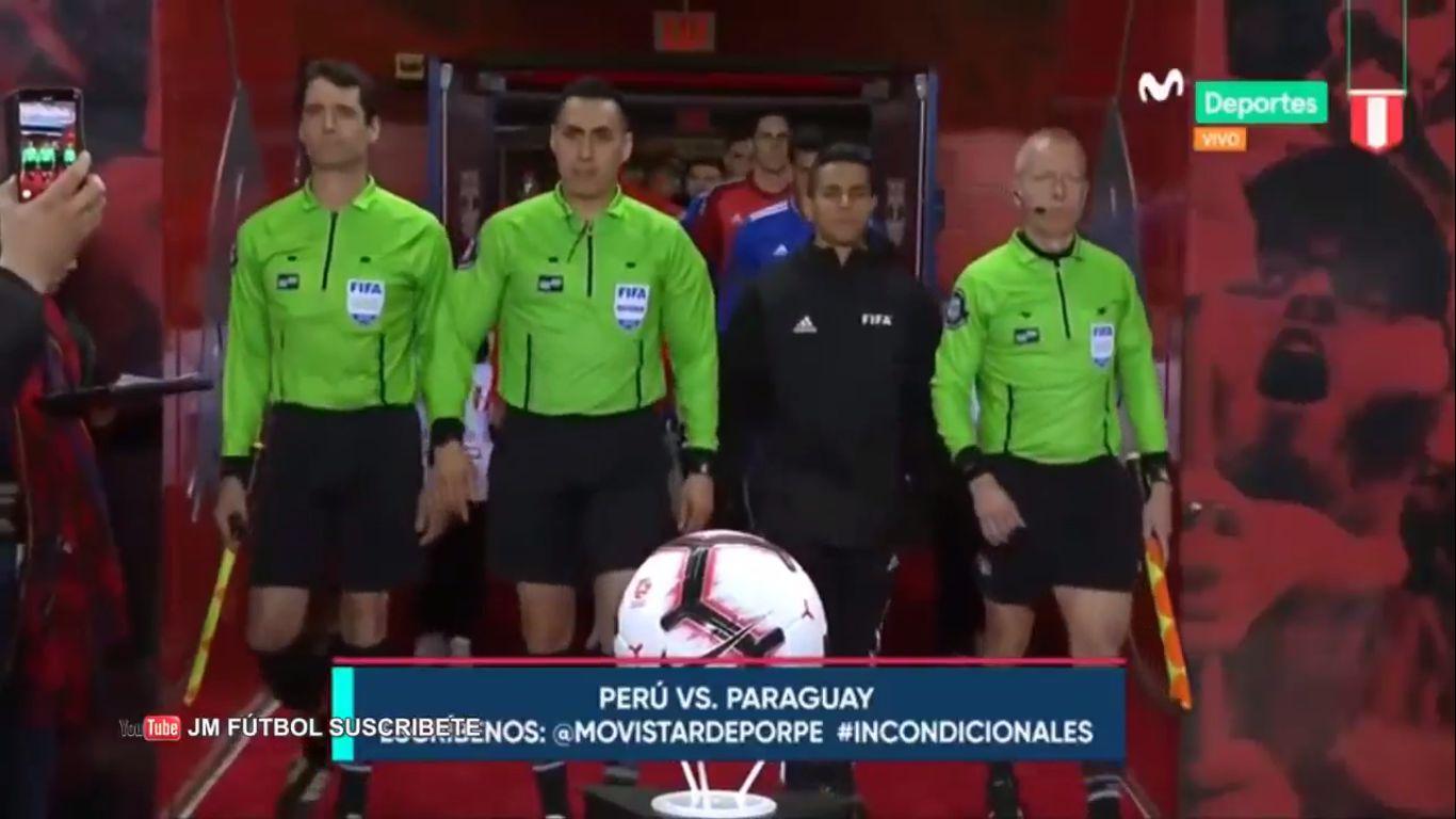 23-03-2019 - Peru 1-0 Paraguay (FRIENDLY)