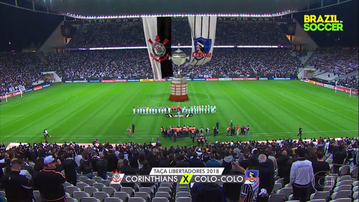 30-08-2018 - Corinthians 2-1 Colo Colo (COPA LIBERTADORES)