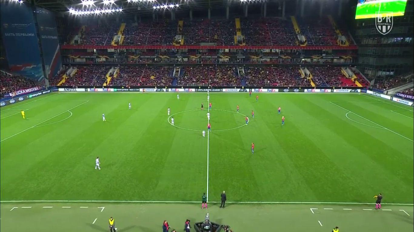 03-10-2019 - CSKA Moscow 0-2 RCD Espanyol (EUROPA LEAGUE)