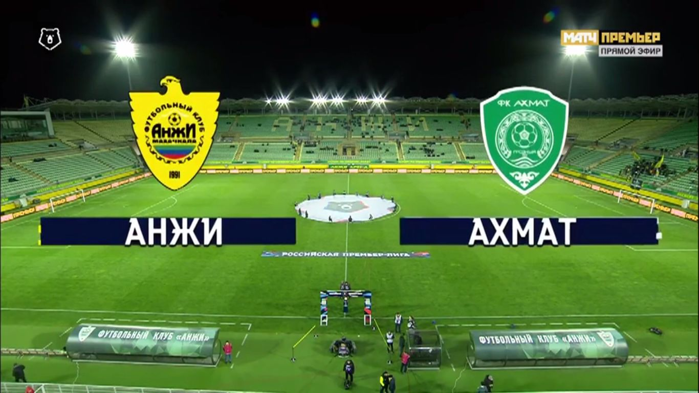 19-04-2019 - FC Anzhi Makhachkala 0-1 Republican FC Akhmat Grozny