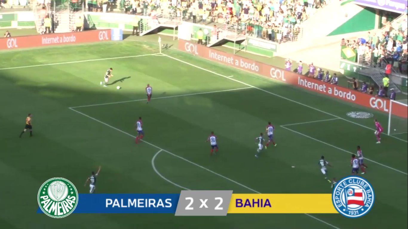 12-08-2019 - Palmeiras 2-2 Bahia