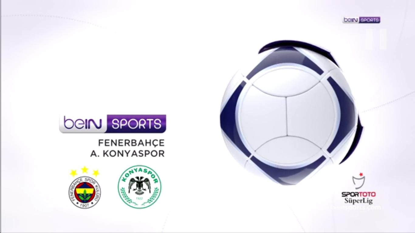 16-02-2019 - Fenerbahce 1-1 Konyaspor