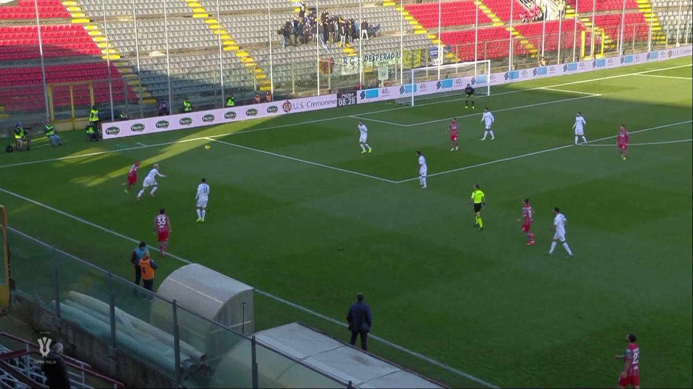 03-12-2019 - Cremonese 1-0 Empoli (COPPA ITALIA)