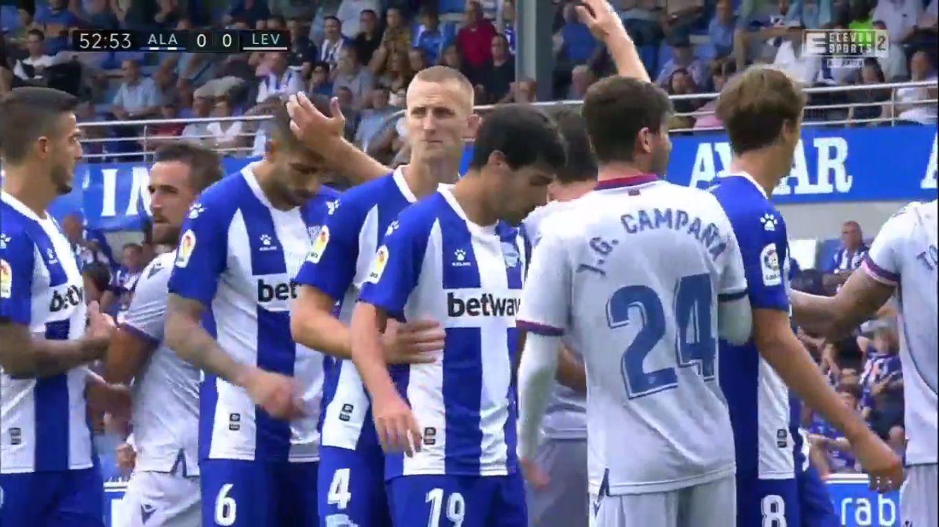 18-08-2019 - Deportivo Alaves 1-0 Levante