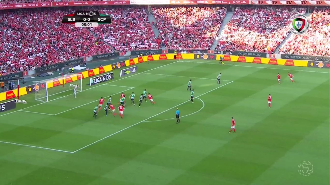 25-08-2018 - Benfica 1-1 Sporting CP