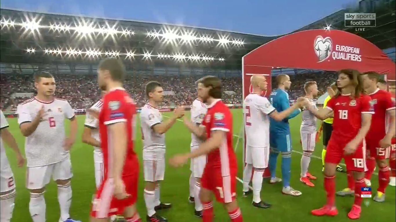 11-06-2019 - Hungary 1-0 Wales (EURO QUALIF.)