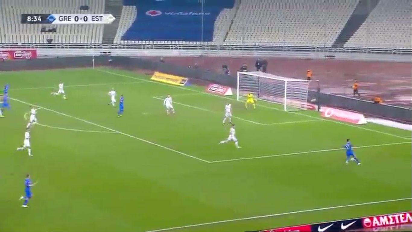 18-11-2018 - Greece 0-1 Estonia (UEFA NATIONS LEAGUE)