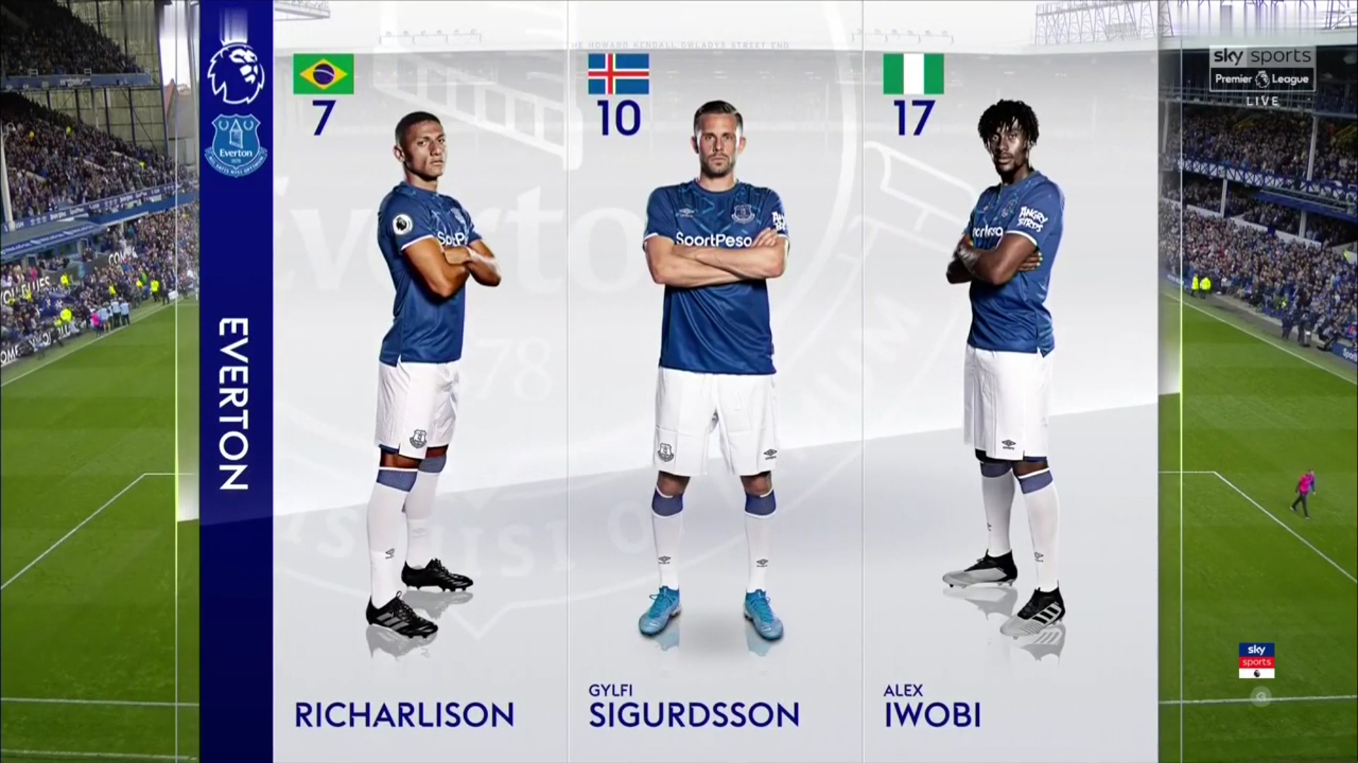 01-09-2019 - Everton 3-2 Wolverhampton Wanderers