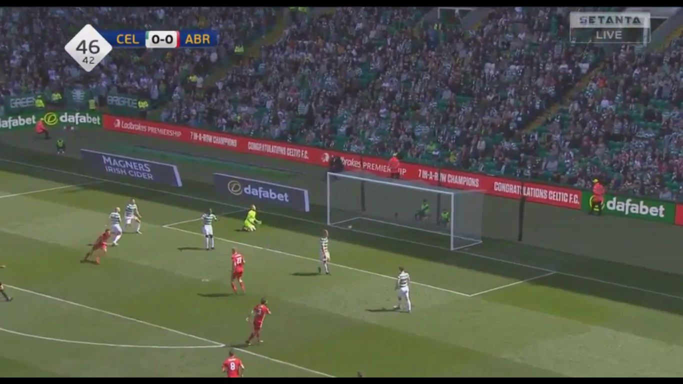 13-05-2018 - Celtic 0-1 Aberdeen