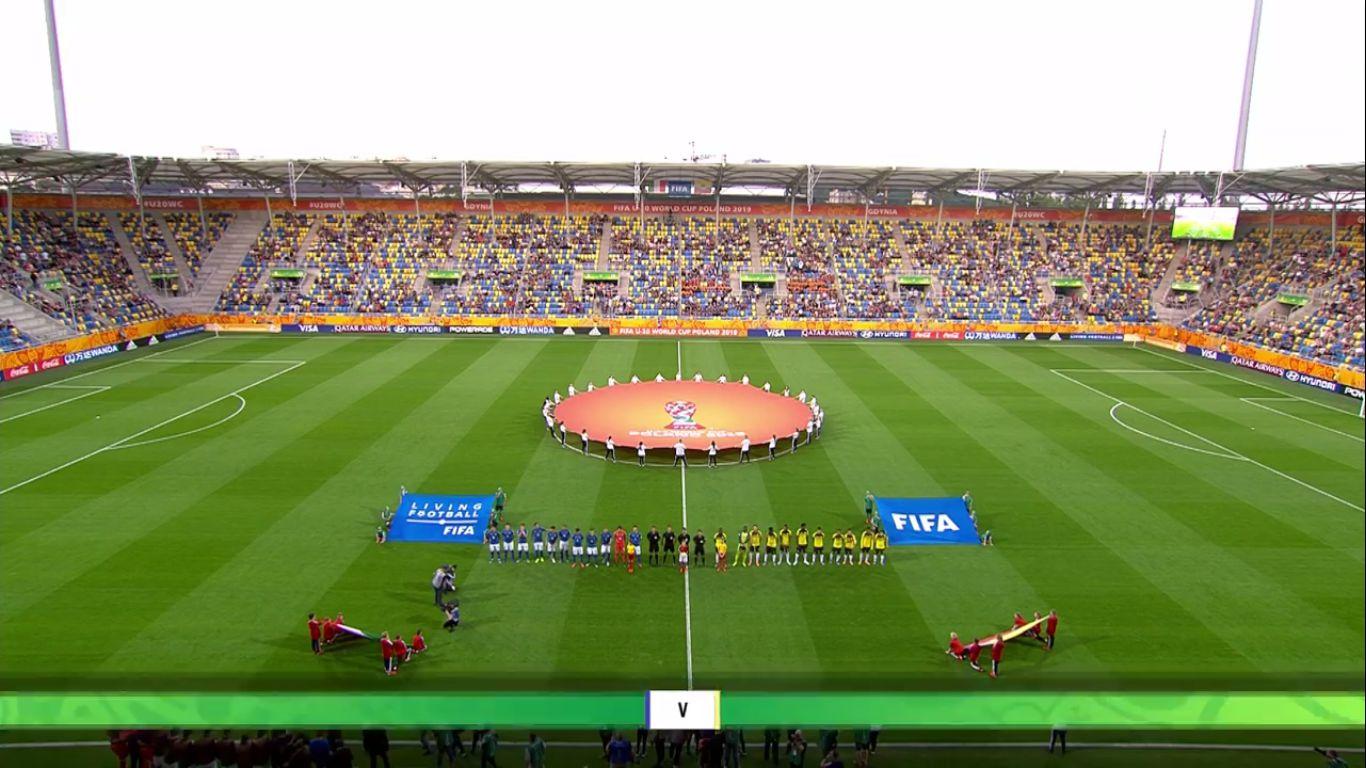 14-06-2019 - Italy U20 0-1 Ecuador U20 (WORLD CUP U20 - 3RD PLACE)