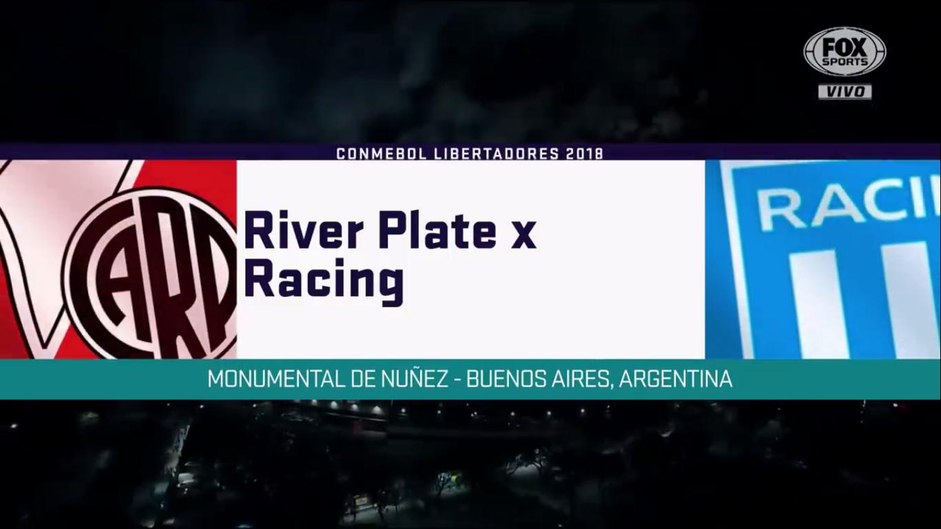 30-08-2018 - River Plate 3-0 Racing Club (COPA LIBERTADORES)