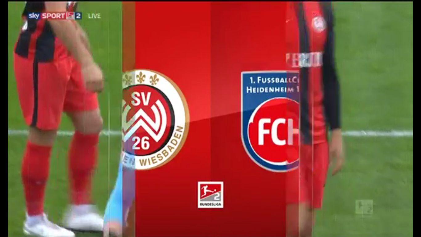19-10-2019 - SV Wehen Wiesbaden 0-0 1. FC Heidenheim 1846 (2. BUNDESLIGA)