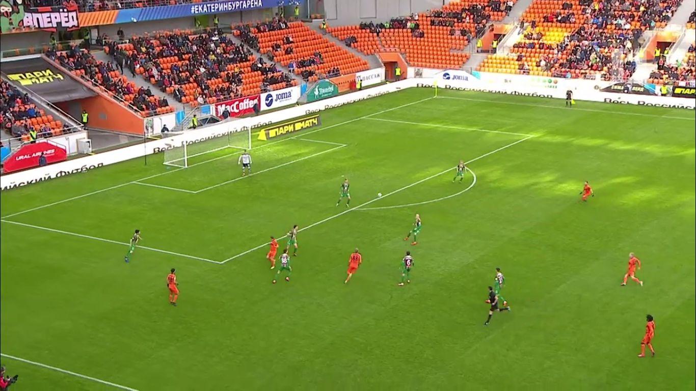21-04-2019 - Ural 2-1 FC Rubin Kazan