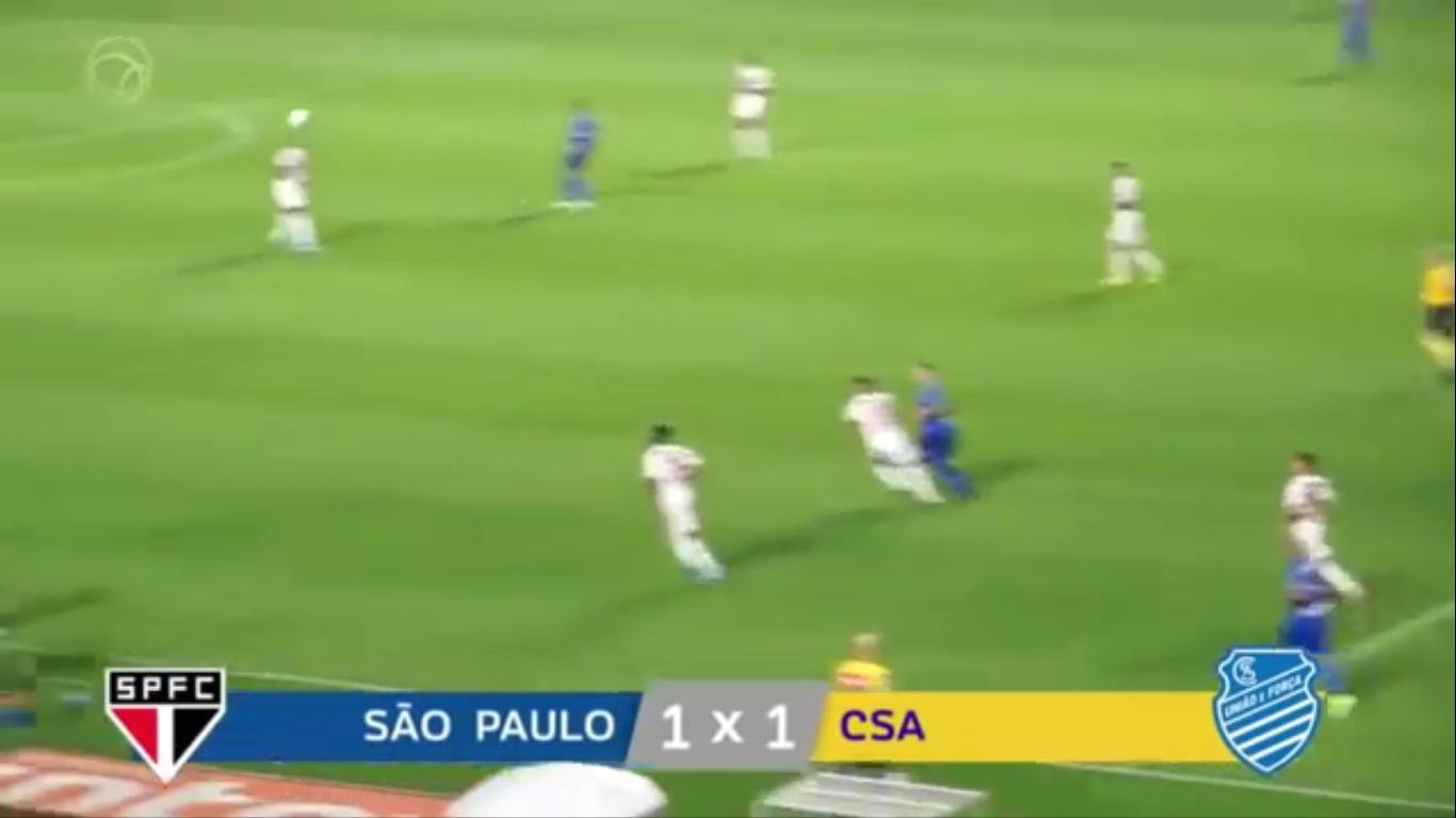 16-09-2019 - Sao Paulo 1-1 CSA AL
