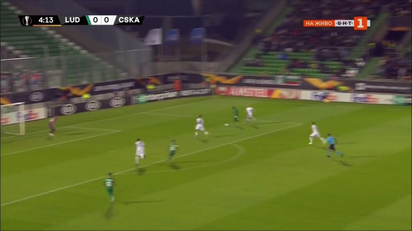 19-09-2019 - Ludogorets Razgrad 5-1 CSKA Moscow (EUROPA LEAGUE)