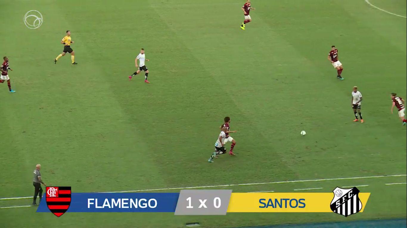 15-09-2019 - Flamengo 1-0 Santos FC SP