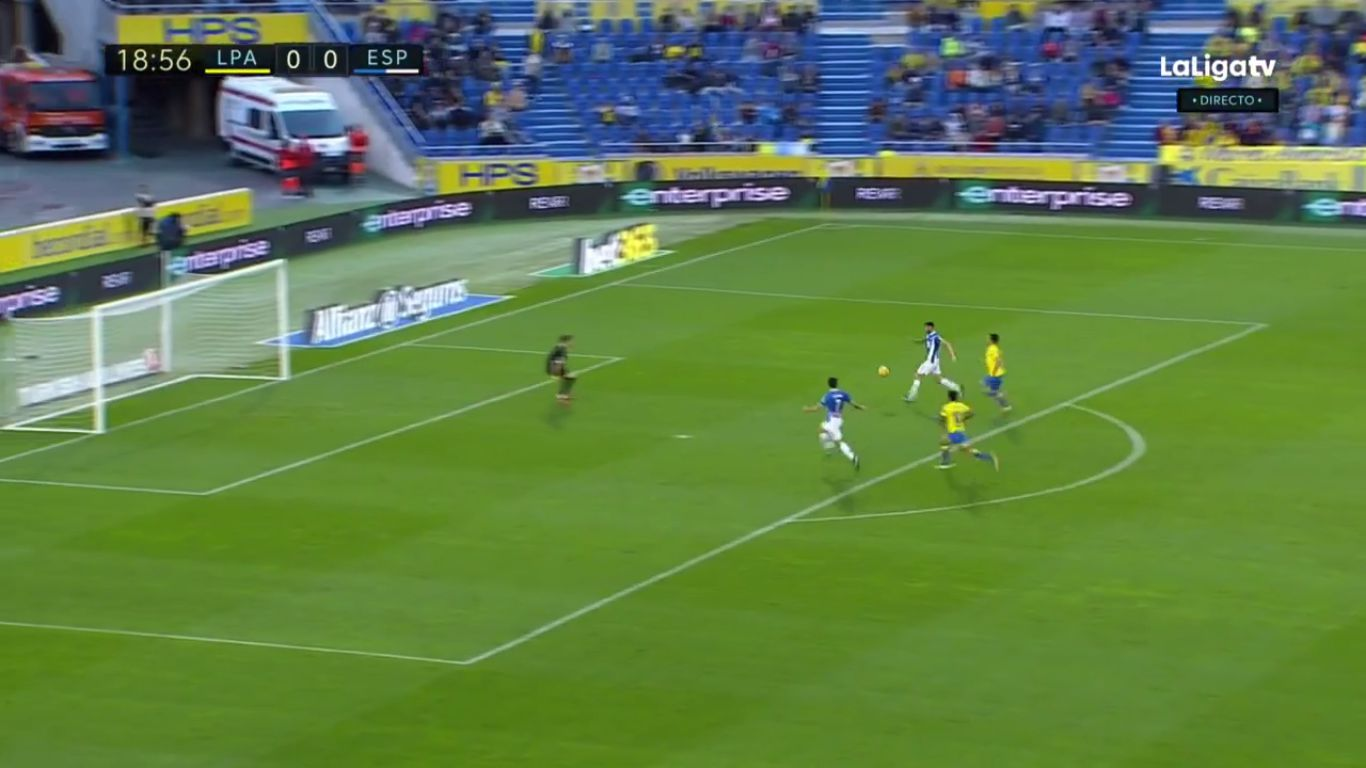 Las Palmas 2-2 Espanyol